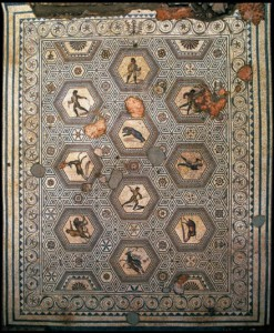 Mosaik des Jagdes
